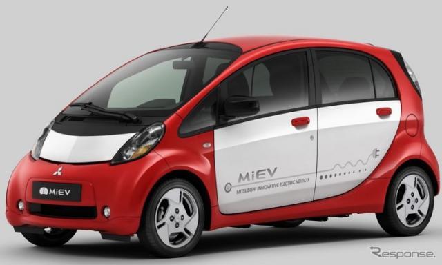 三菱 i-MiEV(2011年)《写真提供 三菱自動車》