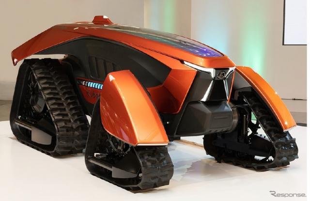 開発中の自動運転農業機械《写真提供 NVIDIA》