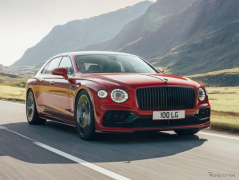 ベントレー フライングスパー 新型に「V8」、550馬力ツインターボ搭載…欧州発表