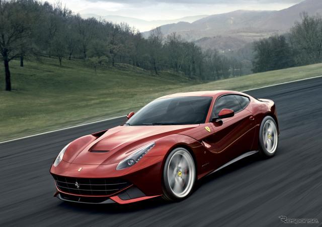 フェラーリF12ベルリネッタ《photo by Ferrari》
