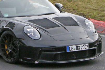 まさかの電動化!? ポルシェ 911 GT3 RS 次期型、プロトタイプから見えたもの
