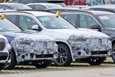 BMW X3 改良新型、高性能モデル「M40i」を初スクープ!