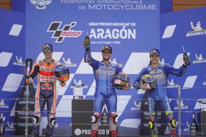【MotoGP アラゴンGP】スズキ、アレックス・リンスが今季初優勝