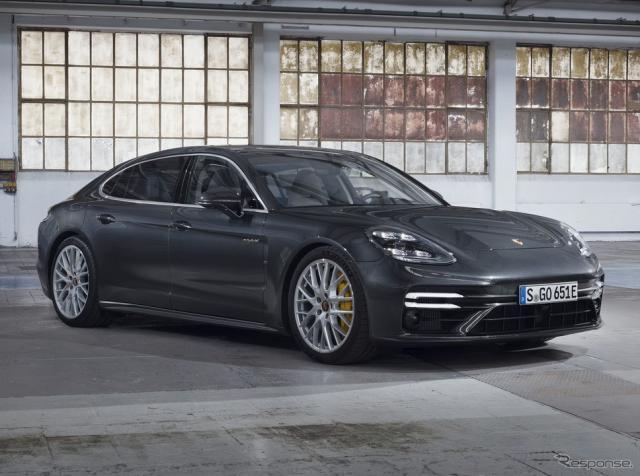 ポルシェ・パナメーラ・ターボS E-ハイブリッド 改良新型《photo by Porsche》