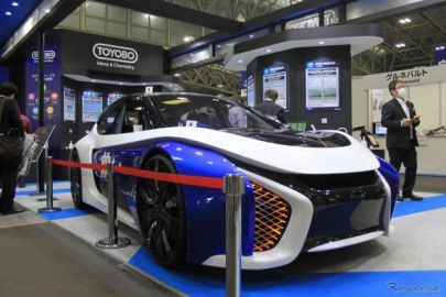 新幹線に採用された新素材シートをクルマに、東洋紡…名古屋オートモーティブワールド2020