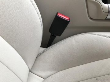 シートベルトのバックルがまた「悪成長」している【岩貞るみこの人道車医】