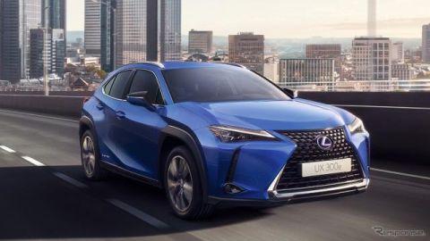 レクサス初の市販EV『UX300e』、商談開始…価格は580万円より