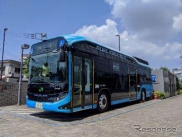 ウォーターフロント再開発、燃料電池バスを運行 東京竹芝で10月24日から