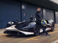 マクラーレンの究極のロードスター、『エルバ』…F1ドライバーがテスト