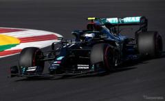【F1 ポルトガルGP】荒れたフリー走行2回目のトップタイムはボッタス…フェルスタッペンが2番手
