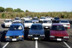 4WD・RXやスイングバックなどレオーネ3世代が集結…2020年秋スバルレオーネオーナーズクラブ渡良瀬ミーティング