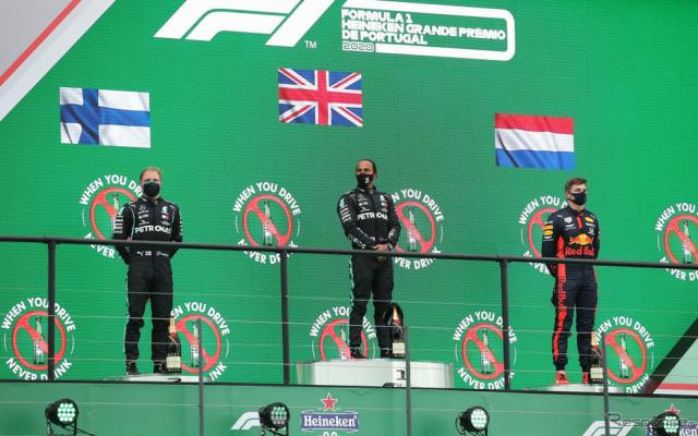 F1ポルトガルGP《Photo by Jose Sena Goulao - Pool/Getty Images Sport/ゲッティイメージズ》