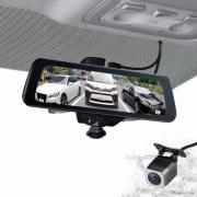 360°+後方カメラで全方位をカバー、電子ミラー型ドラレコ発売…セイワ