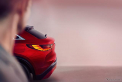 インフィニティ、ラグジュアリー・クロスオーバークーペ市場に復帰 『QX55』を11月17日発表へ