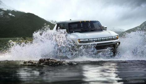 ハマー EV、11万ドル超えの「エディション1」が予約完売…2021年秋米国発売へ