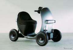 「シニアカーもカッコよく」GLM、デザイン重視のコンセプトモデル発表