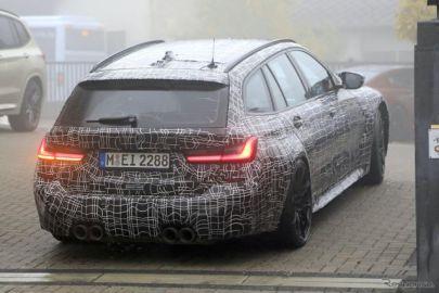 BMW『M3』初のツーリングワゴン、最新のプロトタイプをスクープ!