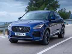 ジャガー最小SUV、『E-PACE』に改良新型…欧州発表
