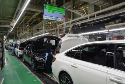 トヨタグループ、国内外とも総生産台数がプラスに転じる 9月実績