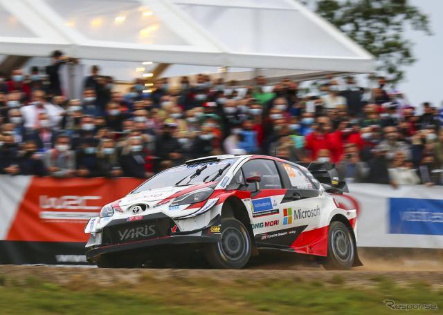 今季WRC第4戦エストニアの模様。《写真提供 TOYOTA》