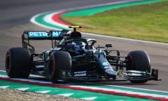 【F1 ロマーニャGP】ホンダ全車が予選トップ10入り…ポールポジションはメルセデスのボッタス