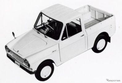 ダイハツ ハイゼットシリーズ、初代発売から60年…記念サイトを公開