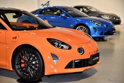 色とりどりの『A110』…ボディカラー29色、ホイールも3種×3色が選べる「アトリエアルピーヌ」開始