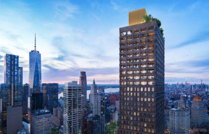 アストンマーティン、タワーマンションをデザイン…DBX 限定仕様がもれなく付帯
