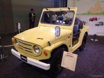 初代 ジムニー、歴史遺産車に認定…日本自動車殿堂