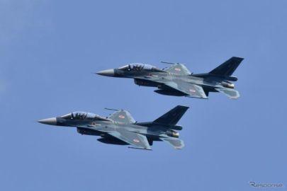 航空自衛隊 F-2B 戦闘機のフライパスを今年も実施…SUPER GT 第7戦