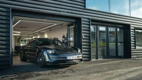 ポルシェ タイカン、発売半年で1000台目を納車…EV普及先進国ノルウェー