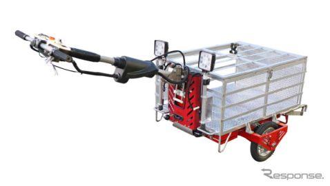 モリタ、電動アシストホースカーを発売…円滑な消火活動を支援