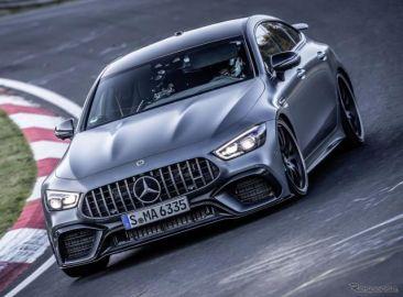 メルセデスAMG GT、ニュルで最速のラグジュアリー車に…ポルシェ パナメーラ の記録更新[動画]