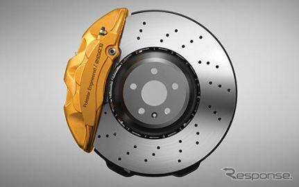 ボルボ XC60 T8ポールスターエンジニアード、曙ブレーキ製品を採用