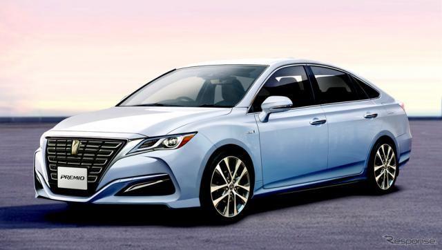 モデル存続!? 14年ぶりフルモデルチェンジへ…トヨタ プレミオ 次期型、3ナンバー&クーペスタイルで刷新か