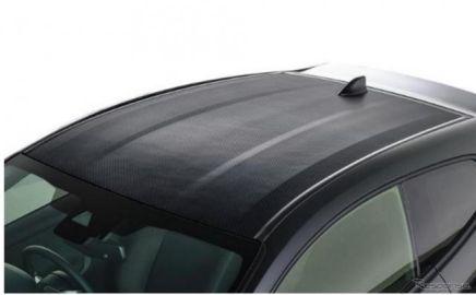 トヨタ GRヤリス、ルーフに炭素繊維複合材料…三菱ケミカルのSMCで軽量化