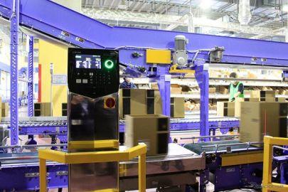 流通センターでデジタルピッキング…豊田自動織機の流通システム