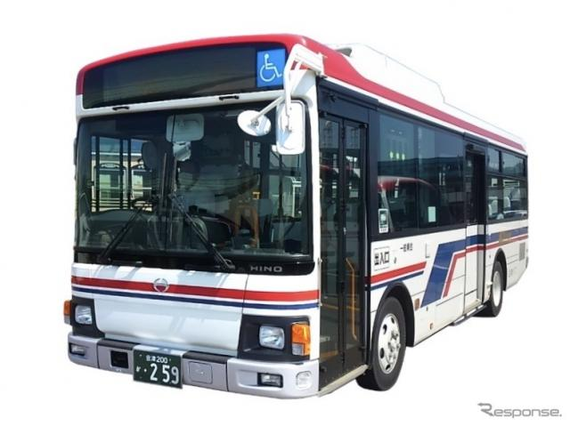ダイナミックルーティングサービスを実施する会津バス《写真提供 みちのりホールディングス》