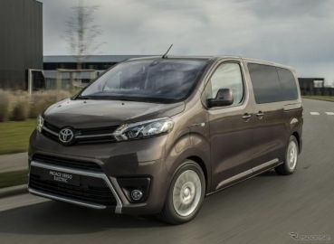 トヨタが新型EVミニバン発表、プジョーとシトロエンの兄弟車に設定…欧州向け『プロエース』