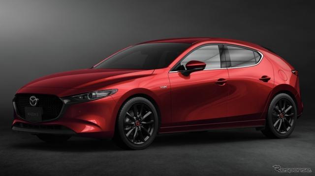 マツダ3 100周年記念車 2020ワールド・カー・デザイン・オブ・ザ・イヤー受賞記念モデル《写真提供 マツダ》