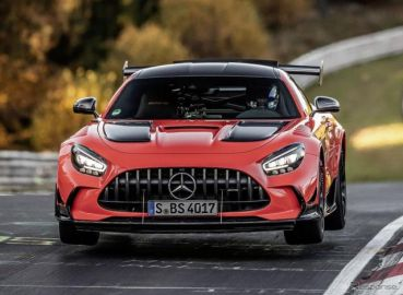 メルセデスAMG GT に頂点、730馬力の「ブラックシリーズ」…ニュル最速の市販車に[動画]
