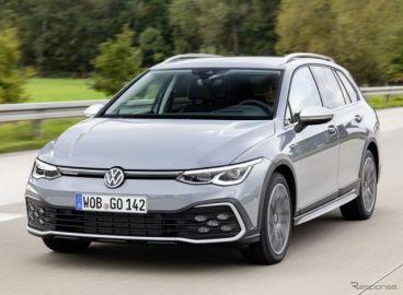 VW ゴルフ 新型のクロスオーバー、「オールトラック」…受注を欧州で開始