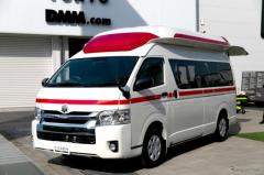 DMMグループ会社が新型救急車『C-CABIN』を発表…スペースを大幅拡張、電動ストレッチャーも搭載可能