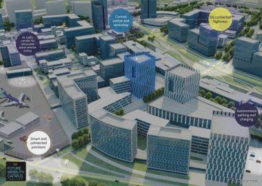 ジャガー・ランドローバー、自動運転都市を建設へ…コネクテッド技術をテスト