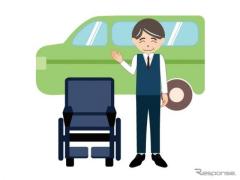 福祉タクシーを2025年度末までに9万台 新たなバリアフリー目標を設定