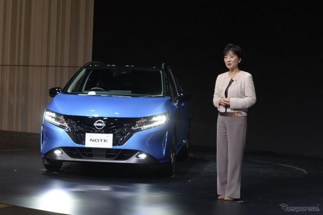 日産ノート新型発表《写真提供 日産自動車》