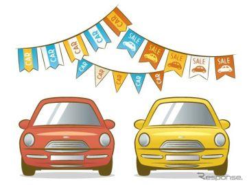 軽四輪車中古車販売、2.8%減の25万9587台で4か月連続マイナス 10月