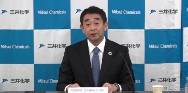 三井化学株式会社 代表取締役社長執行役員 橋本 修氏《写真提供 三井化学》