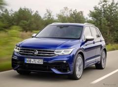 VW ティグアン に初の「R」、320馬力ターボ搭載…受注を欧州で開始