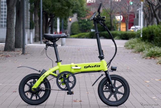 グラフィットが近日発売するハイブリッドバイクの第二弾「GFR-02」《写真撮影 会田肇》